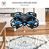 SNAPTAIN Drone, H823H Drone for Kids, LED RC Quadcopter Drone for Beginners with Altitude Hold, Headless Mode, 3D Flips, One Key Return and Speed Adjustment