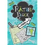 Rätselblock für Kinder ab 10: Wortsuchrätsel, Sudokus, Labyrinthe, Buchstabenrätsel, Wortsalat - cooler Rätselspaß für Kinder