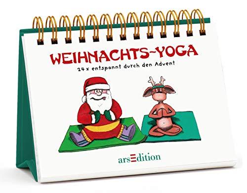 Weihnachts-Yoga: 24 x entspannt durch den Advent