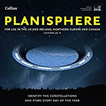 Planisphere: Latitude 50°N – for use in the UK and Ireland, Northern Europe and Canada (Royal Observatory Greenwich)