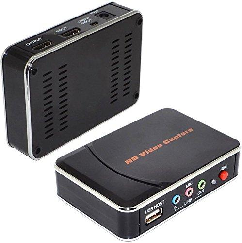 Video-editing-karte (Spiel Video Capture & # xff1b; HDMI/YPbPr Recorder High Definition (HD) Video Capture Box mit Component Video-. Bearbeiten Ihrer Spiele aus WiiU Xbox 360One PS3PS4mit Video Editing Software CD)
