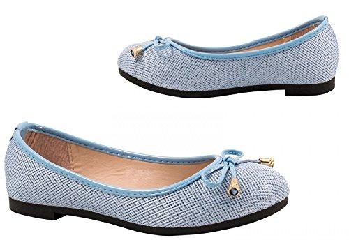 Elara - Scarpe da Ginnastica Basse Donna Blau