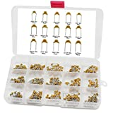 Aussel 15 Wert 450 Stück Keramische Kondensator Sortiment Box Kit Bereich 10pF-100nF(CC450PCS)