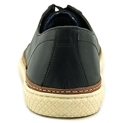 Crevo Palomino Hommes Cuir Baskets Black
