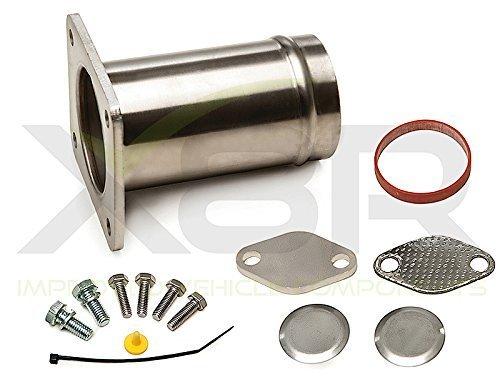 Tubo in acciaio INOX valvola Egr elimina bypass rimozione kit per motori diesel