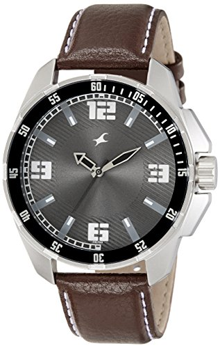 51KbIljVEIL - 3084SL02 Fastrack Grey Mens watch