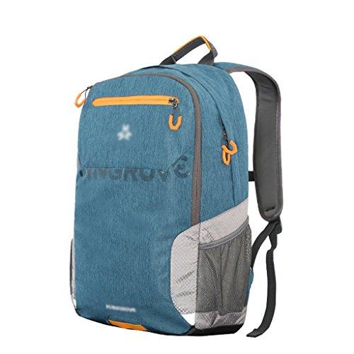 HWLXBB Outdoor Bergsteigen Tasche Männer und Frauen 25L Wasserdichte Mehrzweck-Bergsteigen Tasche Wandern Camping Bergsteigen Freizeit Rucksack Rucksack 2*