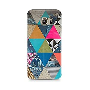 TAZindia Abstract Fusion Hex Premium Printed Case For Samsung Galaxy S7 Edge