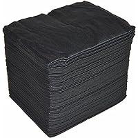 Toallas desechables Spun-Lace 40*80 cm, 100 Unds, Peluquería / Estética, color Negro