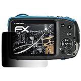 atFoliX Blickschutzfilter für Fujifilm FinePix XP130 Blickschutzfolie - FX-Undercover 4-Wege Sichtschutz Displayschutzfolie