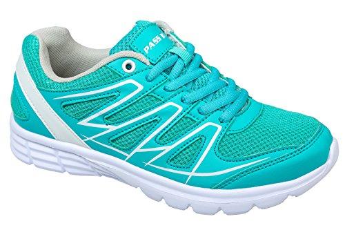 GIBRA® Femme Chaussures de Sport, Très Léger et confortable, turquoise, Taille 36–41 Turquoise - Turquoise