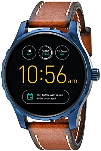 Fossil Q Marshal Touchscreen Digital Multi-Colour Dial Men's Smartwatch- FTW2106