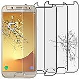 ebestStar -Compatible [Lote de 3] Cristal Templado Samsung J5 2017 Galaxy SM-J530F Protector de Pantalla, Película Vidrio Protectora Ultrafina, Dureza 9H, Sin-Burbujas [Aparato:146.2x71.3x7.9mm 5.2']