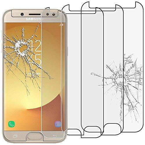 ebestStar - kompatibel Samsung Galaxy J5 2017 Panzerglas x3 SM-J530F Schutzfolie Glas, Schutzglas Displayschutz, Displayschutzfolie 9H gehärtes Glas [Phone: 146.2 x 71.3 x 7.9mm, 5.2\'\']
