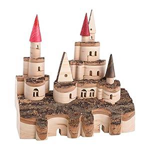 Pequeño Pie Company 7451 - Juguetes de construcción - Castillo de Madera - Clásicos