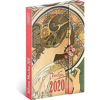Draeger Lesezeichen Satin Stoff Elastischer Verschluss Mini Diary 2020 Illustrierte Chats Katzenkalender Format 9,5 x 14,5 cm Taschenkalender 2020 Pratik Chats Starrer Deckel