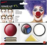 Smiffys - Sm37805 - Set Maquillage Clown - La Peinture Pour Le Visage - Le Nez - Les Crayons Et L'Éponge - Taille Unique