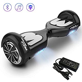 [Mega Motion E1] 6.5 inch Segway- Electric Skateboard- 700W Motor - [Built-in Bluetooth Speakers ] - LED - Self Balanced Electric Scooter with CE Safety System