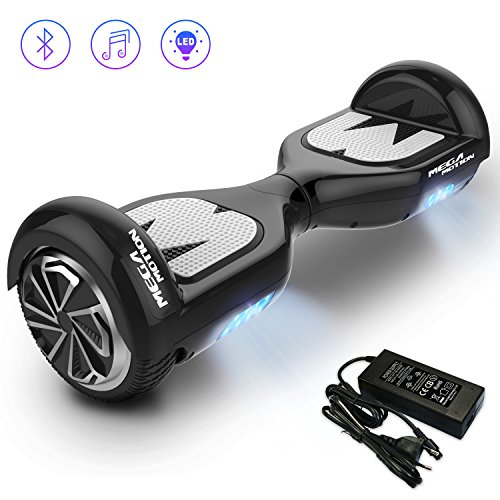 Mega Motion Self Balance Scooter E1 -Gyropode électrique 6.5″ -Bluetooth – sécurisé UL CE