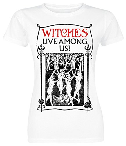 Fantastic Beasts and Where to Find Them T-Shirt Witches da donna in bianco