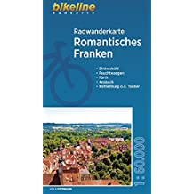Radwanderkarte Romantisches Franken, wetterfest/reißfest (bikeline Radwanderkarte)