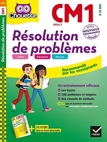 Résolution de problèmes CM1 (Chouette Entraînement) por Jeanne Bia