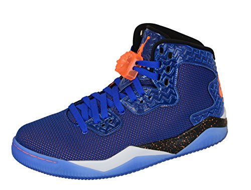 Nike Air Jordan Spike Forty Pe, Chaussures de Sport Homme, Taille Multicolore - Azul / Naranja / Blanco / Negro (Game Royal / Ttl Orng-White-Blk)