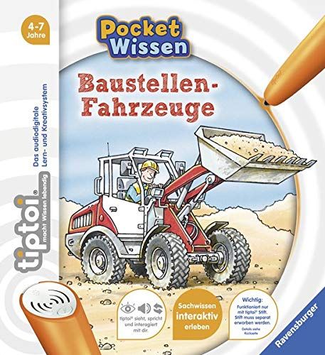 (tiptoi® Baustellen-Fahrzeuge (tiptoi® Pocket Wissen))