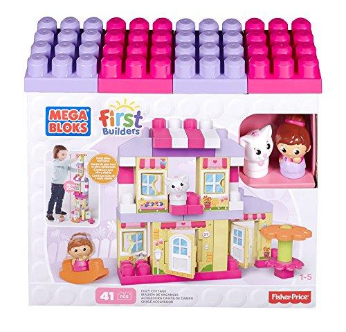 Mattel Mega Bloks First Builders CNG26 - Traumhaus Mädchen, Bau- und Konstruktionsspielzeug