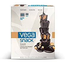 Snack Bar, Chocolate Peanut Butter Cup, 12 Bars, 1,48 oz (42 g) Chaque Vega -