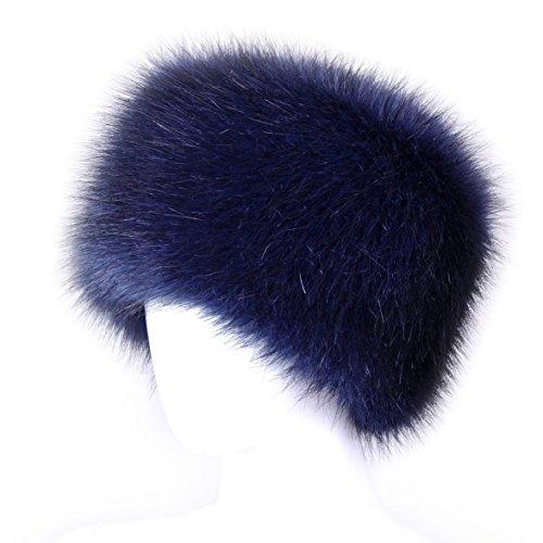 Futrzane Faux Fur Cossak Russian Style Winter Hat for Ladies Women Test