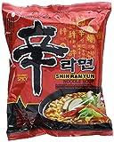 Nong Shim Instantnudeln Shin Ramyun Koreanische Rindfleisch Ramen Suppe (scharf,...