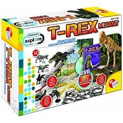 Liscianigiochi 40285 Discovery Megakit - Kit de tiranosaurio rex [Importado de Italia]