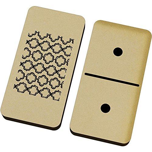 Marokkanische Spiel (Azeeda 'Marokkanisches Muster' Domino-Spiel und Box (DM00007128))