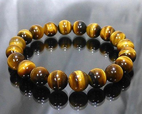 Arihant Handicrafts Tiger Eye Stone Power Bracelet Gem Stone Bracelets, Tiger Eye...
