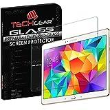 TECHGEAR Vetro Temperato Compatibile con Galaxy Tab S 10.5' (SM-T800, SM-T805) - Autentica Pellicola Protecttiva in Vetro Temperato per Samsung Galaxy Tab S 10.5 Pollici