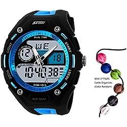 TTLIFE 1015 Mens Multifunction Analog Digital LED Quartz Electronic Sport Watches