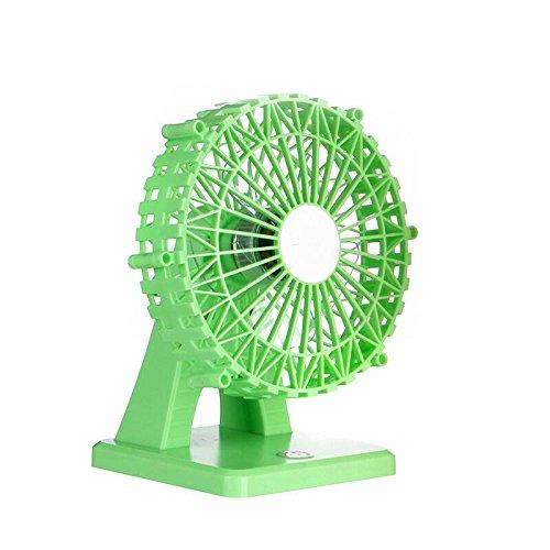 caricature-de-mini-ventilateur-usb-6-poucesvert
