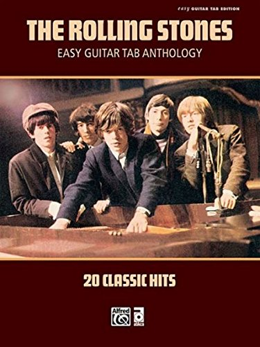 The Rolling Stones: Easy Guitar TAB Anthology: 20 Classical Hits (Easy Guitar Tab Editions)