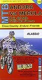 MTB Alassio, Andora, Val Merula 1 : 25.000: Cross Country-Freeride-Downhill. Topographische Fahrradkarte