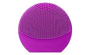 FOREO LUNA play plus Brosse lissante visage portable/Purple/Appareil pour soin du visage étanche à piles