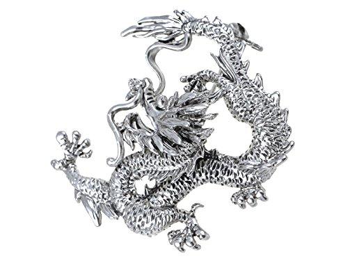 Alilang Swarovski Kristallelemente Asian Zodiac Fierce Drachenkaisers Mode-Brosche