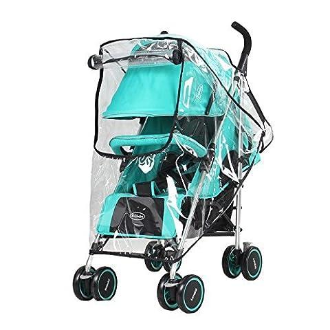 Eximtrade Baby Pram Stroller Pushchair Rain Cover Waterproof Wind Dust Dirt (Scudo Polvere)