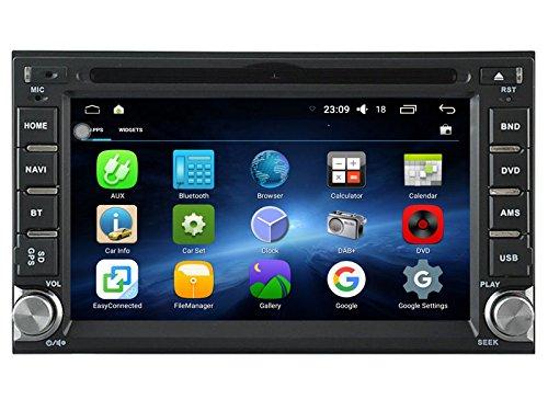 Android 6.0 Universal AutoStereo DVD Spieler GPS Navigation SAT NAV Für Nissan HD Auto Multimedia Radio Audio Einheit mit Spiegel Link