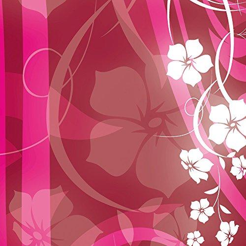 Apple iPhone 5 Housse Étui Silicone Coque Protection Fleurs Fleurs Vrilles Sac Downflip noir