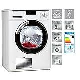 Bauknecht TK Super Eco 815 Wärmepumpentrockner/ Energieklasse A+++ / 8 kg / Kindersicherung / Ultimate Care / Verbesserter Knitterschutz / Supersanft Programm für sehr empfindliche Textilien/ Seide-Programm / Eco Monitor /weiß