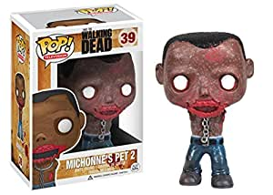 [UK-Import]Walking Dead Michonne Pet Zombie Pop! Vinyl Figure - Pet Walker 2