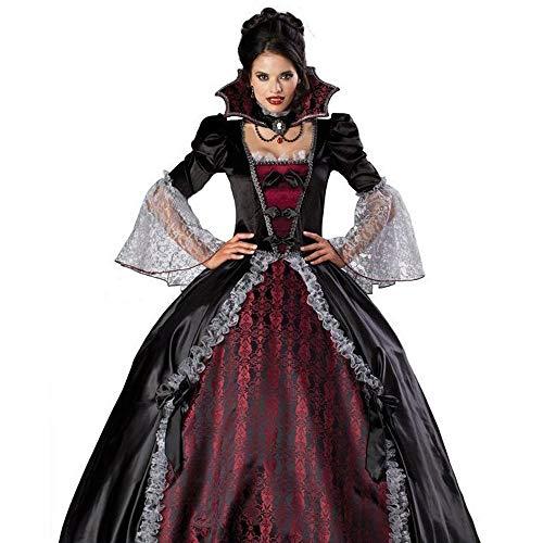 MTX- Korsagen & Bustiers Ghost Festival Kostüm Weibliche Vampir Zombie Kostüm Halloween Ghost Bride Maskerade Party Queen Kostüm