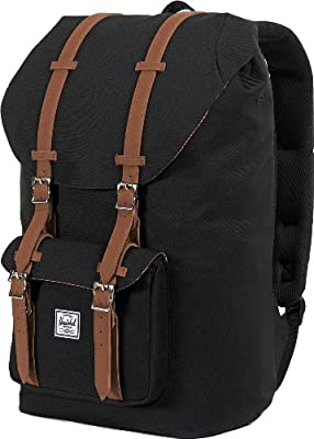 Herschel Little America Black, Mochila