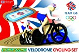 Scalextric G1072 Team GB Velodrome 2012: Track Cycling 1:64 Scale Race Set - Scalextric - amazon.co.uk